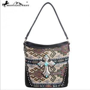 Montana West Western Aztec Collection Handbag